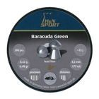 Image of H&N Baracuda Green .177 Pellets x 200
