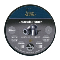 H&N Baracuda Hunter .177 Pellets x 400