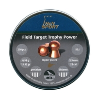 H&N Field Target Trophy POWER .22 Pellets x 200