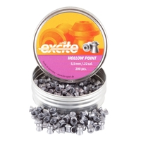 H&N Excite Hollow Point .22 Pellets x 200