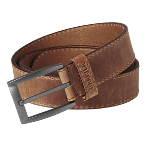 Image of Harkila Arvak Leather Belt - Dark Sand