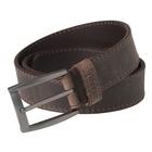 Image of Harkila Arvak Leather Belt - Deep Brown