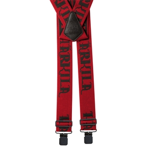 Image of Harkila Carl-Eric Braces with Clips - Red