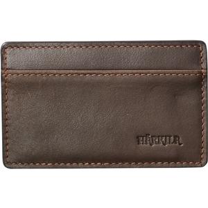 Image of Harkila Credit Card Sleeve - Waxed Leather - Dark Brown