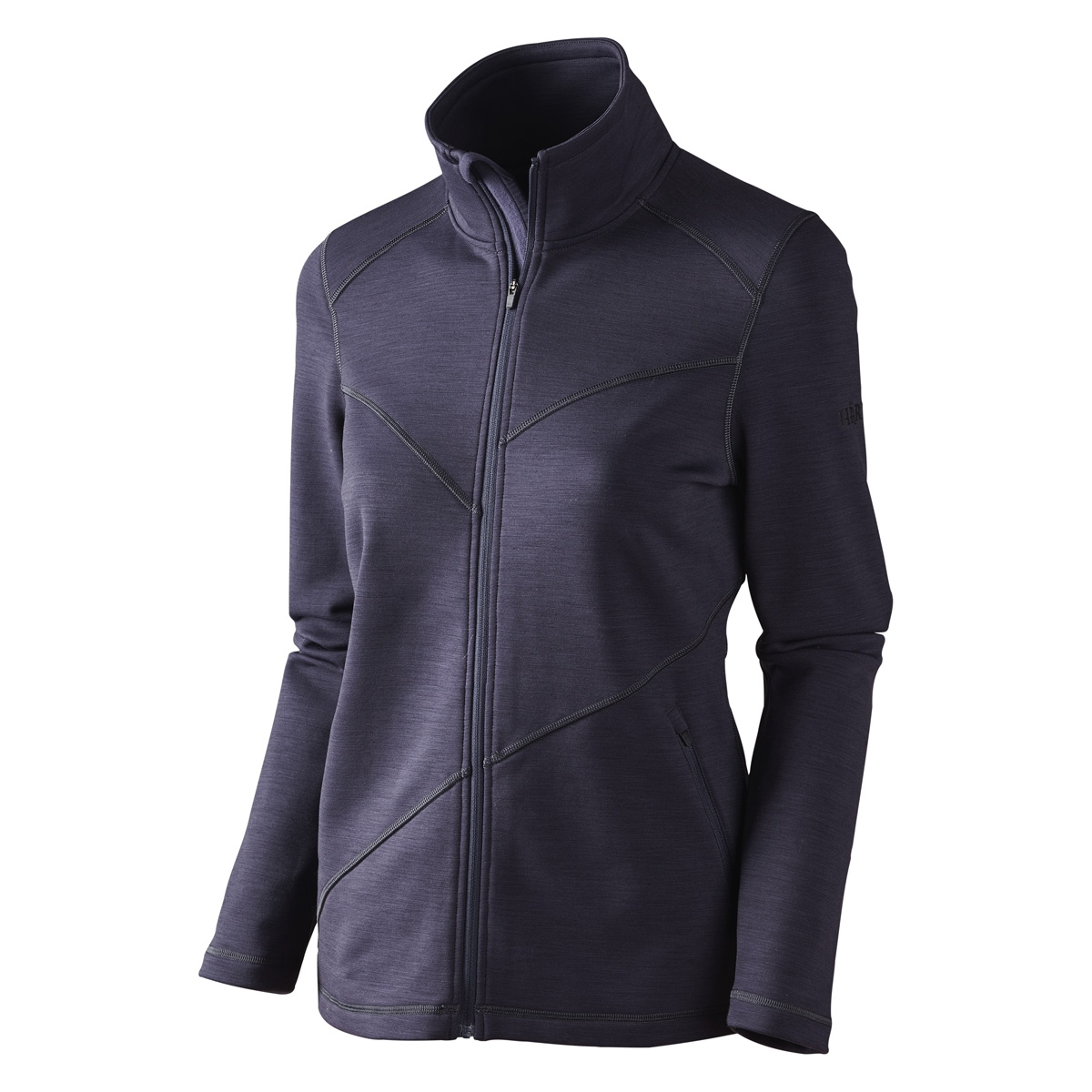 Image of Harkila Disa Lady Full Zip Fleece - Purple Melange 05da2b7a53a77