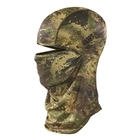 Image of Harkila Lynx Balaclava - AXIS Forest Green Camo