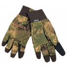 Image of Harkila Lynx HWS Gloves - AXIS Forest Green Camo/Forest Green