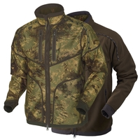 Harkila Lynx Reversible Fleece Jacket