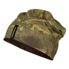 Image of Harkila Lynx Reversible Beanie - AXIS Forest Green Camo/Forest Green