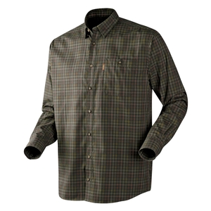 Image of Harkila Milford Grouse Shirt - Dark Olive Check