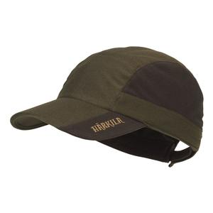 Image of Harkila Mountain Hunter Cap - Hunting Green/Shadow Brown