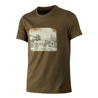 Harkila Odin Moose & Dog T-Shirt