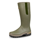 Image of Harkila Orton Gusset Wellington Boots (Men's) - Dark Olive