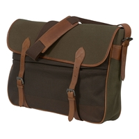 Harkila Retrieve Canvas Game Bag With Vintage Leather
