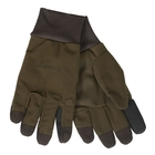 Image of Harkila Retrieve HWS Gloves - Dark Warm Olive