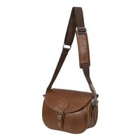 Harkila Retrieve Vintage Leather Cartridge Bag (125)