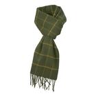 Image of Harkila Retrieve Wool Scarf - Green Check