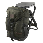 Image of Harkila Salla Rucksack Chair - 25L - Hunting Green
