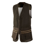 Image of Harkila Sporting Waistcoat - Dark Khaki/Demitasse  Brown