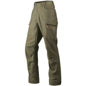 Image of Harkila Stornoway Active Tweed Trousers - Cottage Green