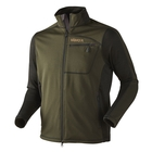 Image of Harkila Vestmar Hybrid Fleece Jacket - Rifle Green Melange