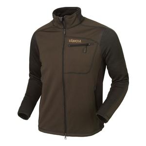 Image of Harkila Vestmar Hybrid Fleece Jacket - Slate Brown Melange