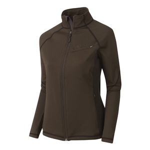 Image of Harkila Vestmar Hybrid Lady Fleece Jacket - Slate Brown Melange