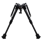 Image of Harris Model 1A2-BRM Bipod 6-9 Inches (Notched Legs - Solid Base)