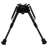 Harris Model S-BRM Bipod 6-9 Inches (Notched Legs - Swivel Base)