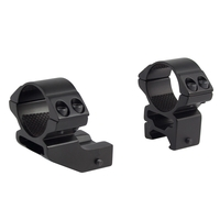 Hawke 2 Piece 1 Inch HIGH Weaver Mounts - Reach Forward 1 Inch