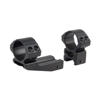 Hawke 2 Piece 30mm HIGH Weaver Mount - Reach Forward 2 inch