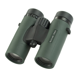 Image of Hawke Nature Trek 8x32 Top Hinge Binoculars - Green