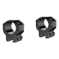 Hawke 2 Piece Tactical Ring Mounts - 1 Inch - 9-11mm Dovetail