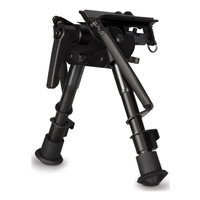 Hawke Tilt Bipod w/Lever - 6-9 Inch/15-23cm