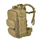 Image of Hazard 4 Clerk - Front/Back Pod Organiser Backpack - Coyote