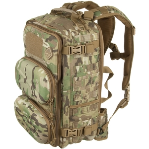 Image of Hazard 4 Clerk - Front/Back Pod Organiser Backpack - Multicam