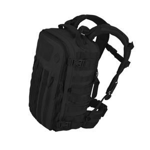 Image of Hazard 4 Officer - Front/Back Slim Organiser Backpack - Black