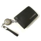 Image of Hazard 4 Rewind Duo Retractor SecuRed Leather Wallet - Black