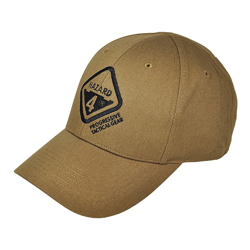 Image of Hazard 4 Tactical Logo Ball-Cap - Coyote a7b3c9272f5