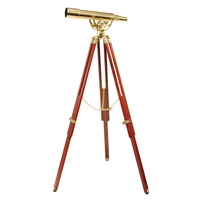 Helios Fine Brass 2060 Traditional Solid Brass Telescope