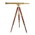 Image of Helios Fine Brass 6040 Traditional Solid Brass Telescope