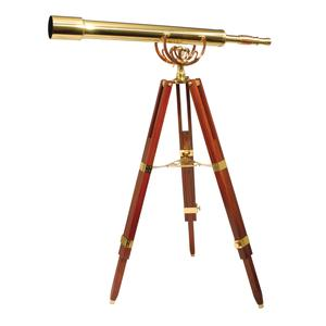 Image of Helios Fine Brass 8040 Traditional Solid Brass Telescope