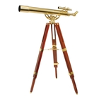 Image of Helios Fine Brass 80900 Traditional Solid Brass Telescope