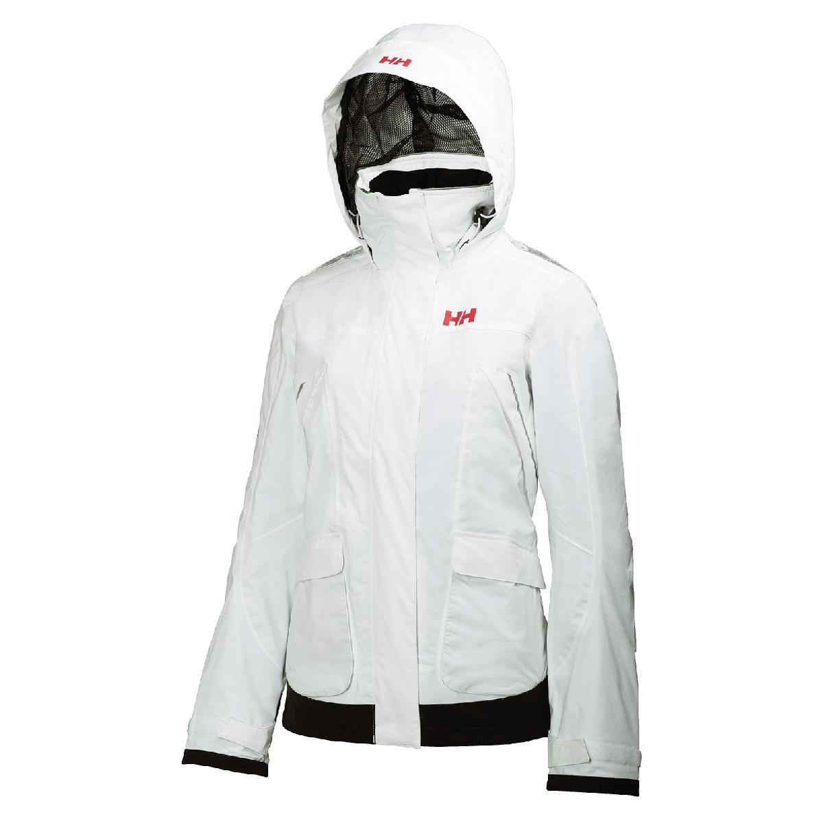 Yhdistynyt kuningaskunta viralliset kuvat myynti Yhdysvalloissa verkossa Helly Hansen Pier Jacket (Women's) - White