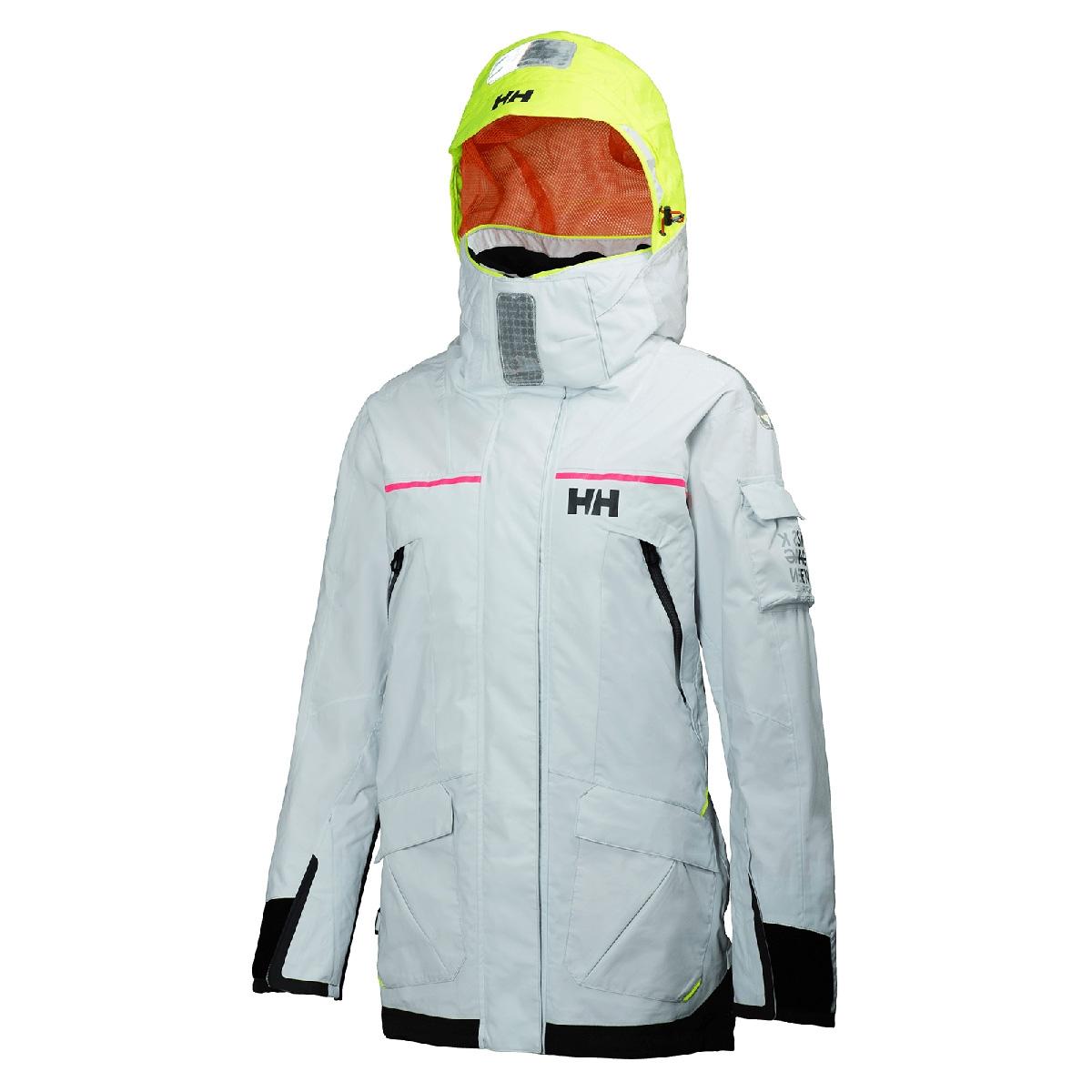 a80a5bf3e0 Helly Hansen Skagen Race Jacket (Women's) - Silver White | Uttings.co.uk
