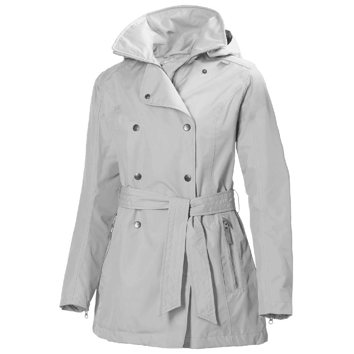 reputation first shoes for cheap clearance sale Helly Hansen Welsey Trench Jacket (Women's) - Ash Grey