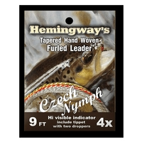 Hemingways Furled Leader - Czech Nymph - 9ft - 4X