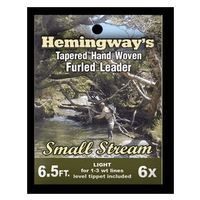 Hemingways Furled Leader - Small Stream Trout - 6.5ft - 6X