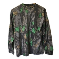 HSF EVO Camo Print Long Sleeved T-Shirt