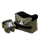Image of HSF Front & Rear Unfilled Shooting Bag - Green